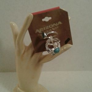Set Of 5 Rings size 7